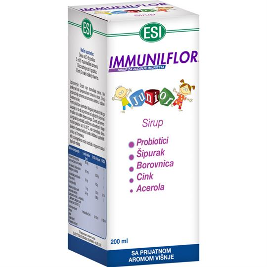 Immunilflor Junior sirup